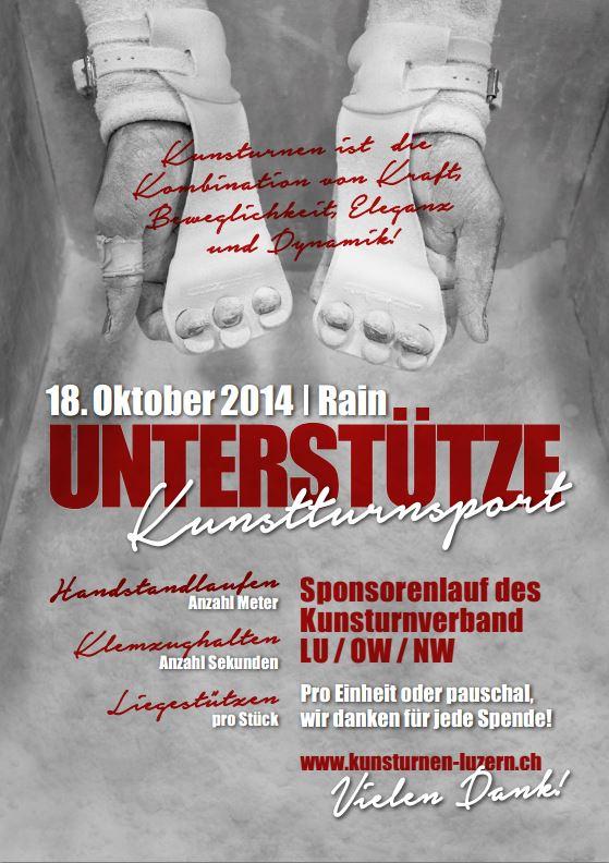 Handstandsponsorenlauf 2014